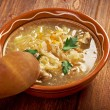 Grandmother's Sauerkraut soup — Stock Photo