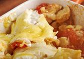Chicken and Pumpkin Lasagna — Stock Photo