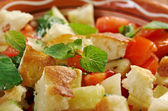 Fattoush - Lebanese Salad — Stock Photo
