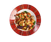 Acqua Pazza  with   perch   — Stock Photo