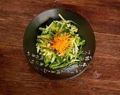 Delicious green broccoli dish — Photo