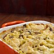 Tetrazzini is an American dish — Stock Photo
