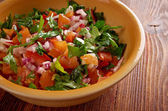Pico de gallo — Stock Photo