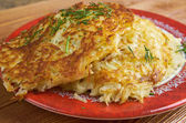 Boxty l Irish potato pancake. — Stock Photo
