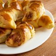 Cheese crescents — Stock Photo #44793579