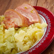 Постер, плакат: Bacon and cabbage