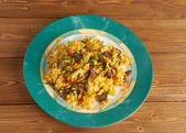 Arroz chino colombiana — Stock Photo