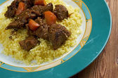 モロッコ風ラム肉のタジン — ストック写真