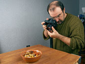 Photo shooting  food — Stock Photo