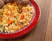 Jollof rice — Stock Photo