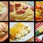 Постер, плакат: Italian traditional cuisine