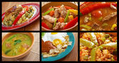 Southern food.Latin American cuisine — Stock Photo