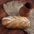 Close-up on traditional bread. — Stock Photo #49386479