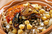 Kushari — Stock Photo