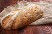 Close-up on traditional bread.  — Stock fotografie