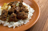 Moroccan Lamb Tagine — Stock Photo