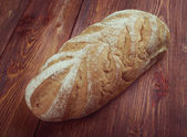 Close-up on traditional bread. — Stock Photo