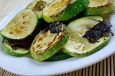 Zucchini con Salvia — Stock Photo