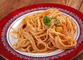 Pasta asciutta — Stock Photo