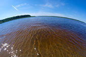Pinyega estuary.  — Stock Photo