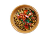 Lebanese Chickpea Balila — Stock Photo