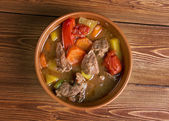 Old fashioned beef stew — Stock Photo