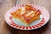 Macaroni with cheese — Stock Photo