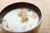New England clam chowde — Stock Photo
