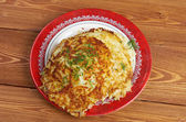 Boxty l Irish potato pancake. — Stock Photo