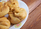 Russian curd tarts — Foto de Stock