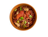 Chili con carne Spicy Homemade — Stock Photo