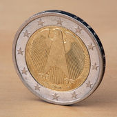 Two Euro with Eagle — Stock Photo