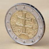 Two Euro — Stock Photo