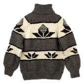 Sweater with pattern — Stock Photo