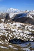 Utsikt över mount elbrus — Stockfoto
