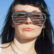 Stock Photo: Woman in sunglasses