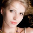 Portrait of the beautiful young blonde. — Stock Photo #1166625