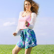 Playful pretty young woman — Stock Photo #13441856