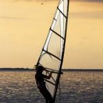 Windsurfer — Stock Photo