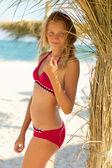 Atraktivní dospívající dívka — Stock fotografie