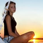 Beautiful teen girl — Stock Photo