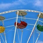 Three cabins Ferris wheel — Stock Photo #17132561