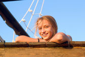 Smiling girl — Stock Photo