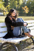 Atraktivní mladá žena — Stock fotografie