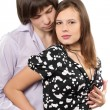 Happy young loving couple — Stock Photo