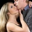 Young passionate couple — Stock Photo