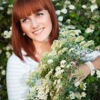 Attractive red-haired woman — Stock Photo #40484041