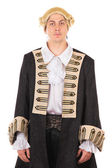 Man in medieval costume — Stock Photo