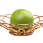 Sweetie fruit in wicker — Stock Photo #49260263