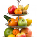 Varied fruit in vase — Stock Photo #49261419